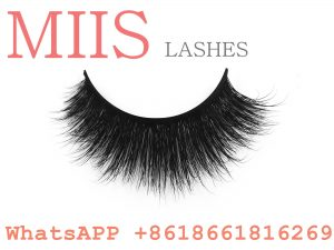 mink lashes clear band