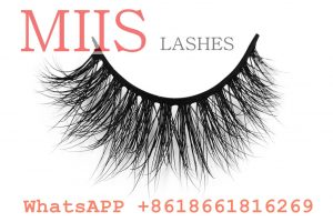 high quality 3d real mink eyelashes