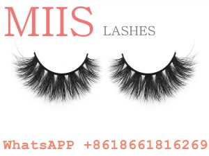Clear band mink false eyelashes