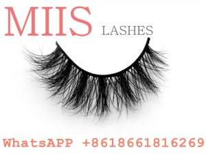3d mink eyelash with custom lash